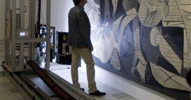 "Picasso's ""Guernica"" undergoes medical check"