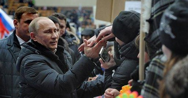Poll predicts Putin's first-round election victory