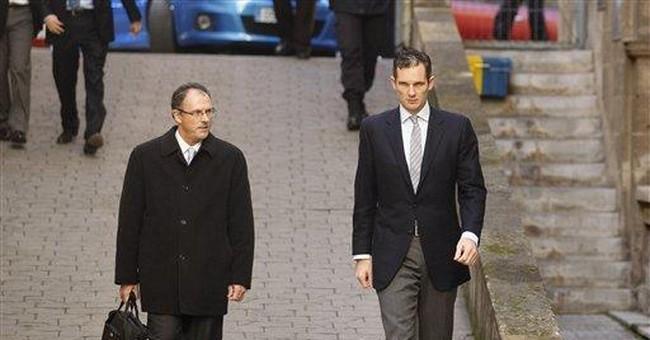 Spain king's son-in-law appears in court