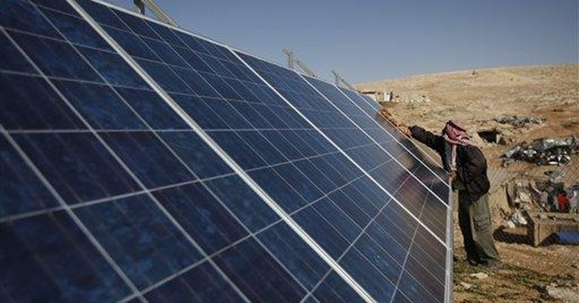 Israel nixes solar energy for Palestinians