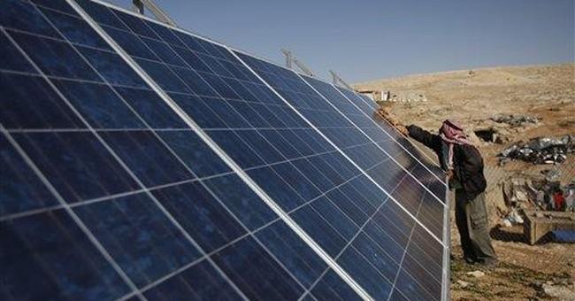 Israel nixes solar energy for Palestinians
