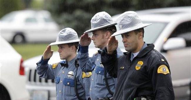 Sheriff: 5 arrested in trooper killing probe