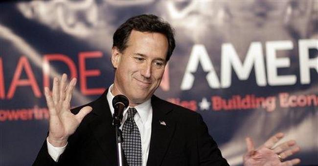 Santorum sees Tuesday's Michigan vote as winnable