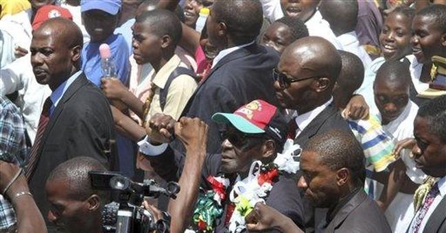 Zimbabwe president to youth: Shun Western values