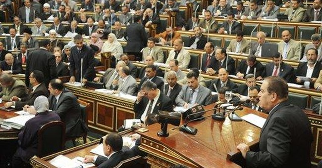 Islamist voted speaker of Egypt's upper house
