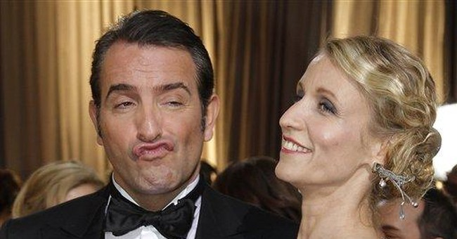 Jean Dujardin wins Best Actor for 'The Artist'