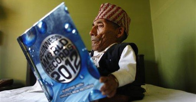 Nepalese man, 72, declared shortest person ever