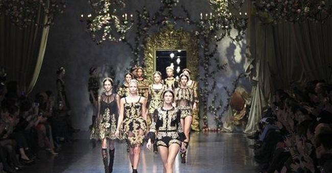 Dolce&Gabbana's aristocratic winter fashion