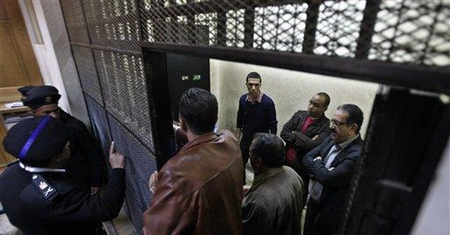 Egypt opens trial at heart of rift with US