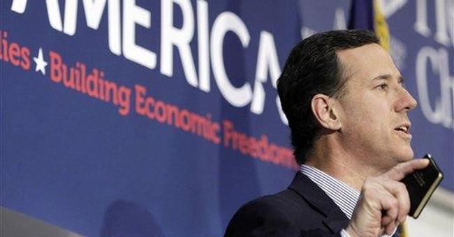 Santorum: Mich. Dems should vote against Romney