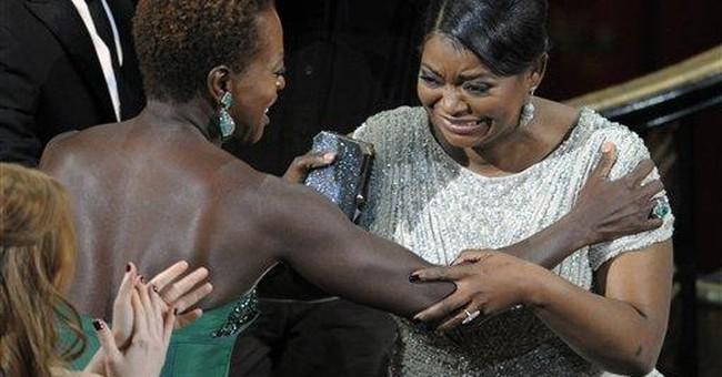 For blacks, mix of 'Help' emotions on Oscar night