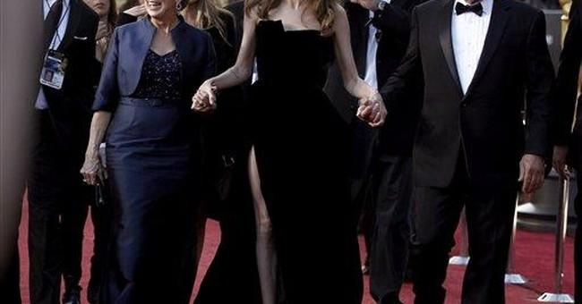 Jolie's leg spawns own instant Twitter account