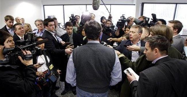 Santorum dubs himself conservative 'heavyweight'