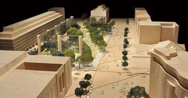 New images show Ike's DC memorial amid criticism