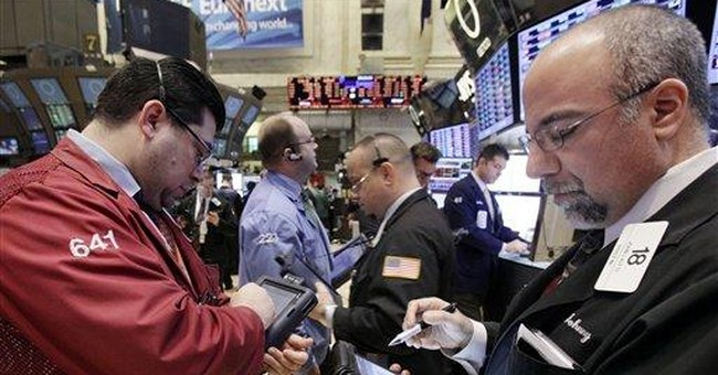 Stocks edge higher after mixed economic reports