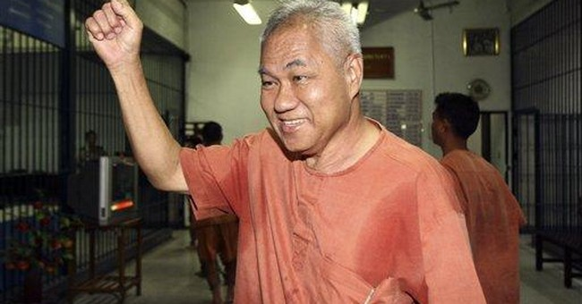 Thai Red Shirt jailed for insulting monarchy
