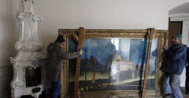 Paintings Hitler bought found in Czech Republic