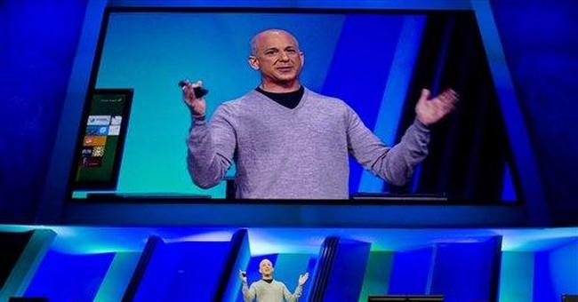 Microsoft sees future in Windows 8 amid iPad rise