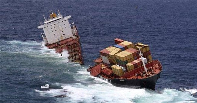 2 officers in New Zealand ship crash plead guilty