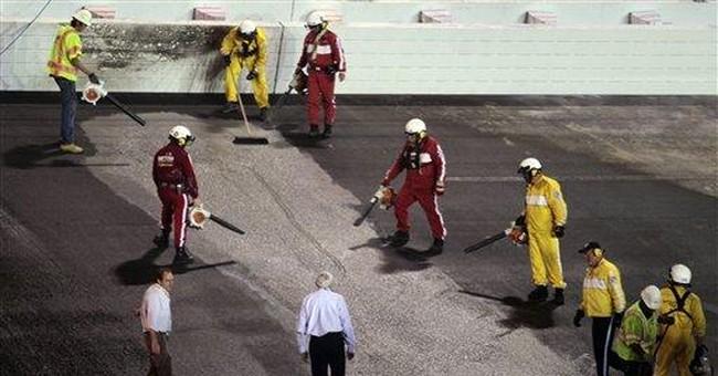 5-time champ Johnson wrecks early in Daytona 500