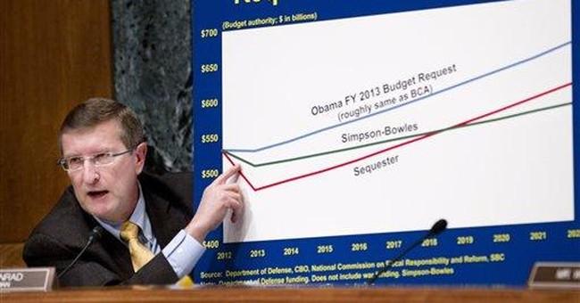 Senators clash over idea of more Pentagon cuts