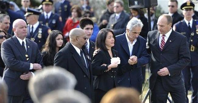 Sorrow, forgiveness at NY funeral for ATF agent