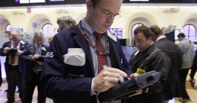 Positive jobs report fails to lift stocks