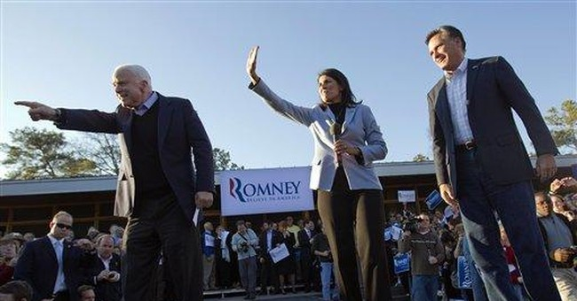 Romney keeps focus on Obama in Southern outings
