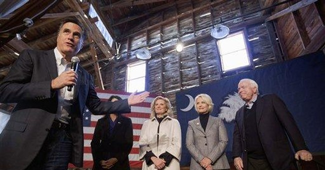 GOP rivals ask: Who is Romney?