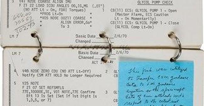 NASA questions Apollo 13 commander's sale of list