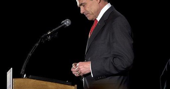 Iowa defeat leaves Perry in unfamiliar role: loser