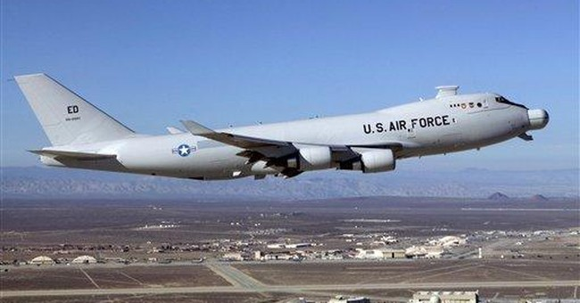 US mothballs airborne laser missile defense weapon