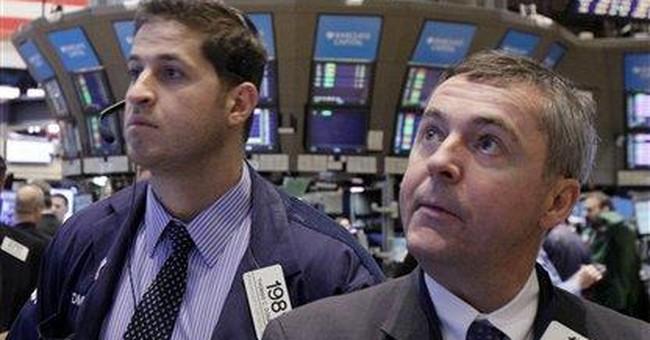 Nasdaq cracks 3,000, but stocks fall