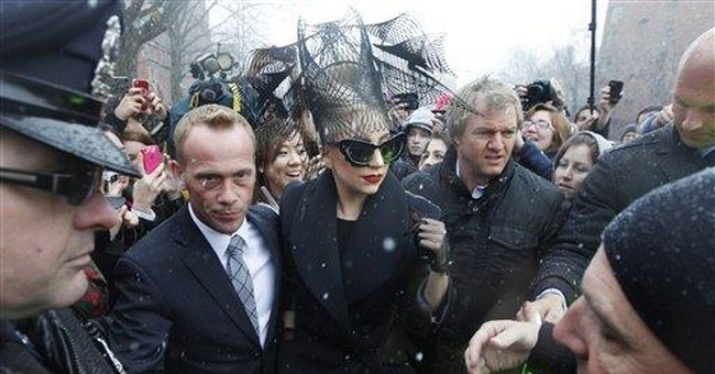 Lady Gaga at Harvard, launches youth foundation