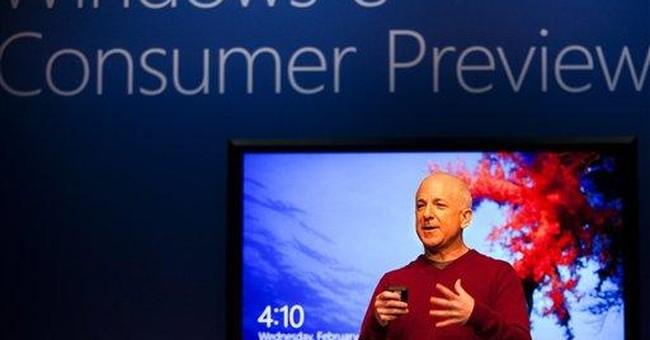 Microsoft unveils Windows 8 for consumer testing