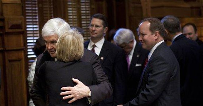 Gingrich says Georgia victory 'key building block'