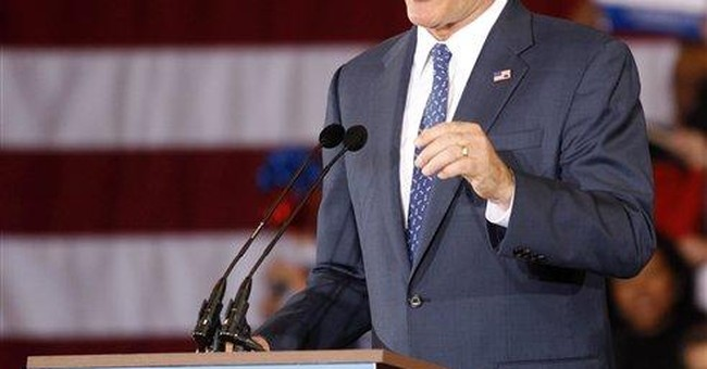 GOP regulars behind Romney's victory in Michigan