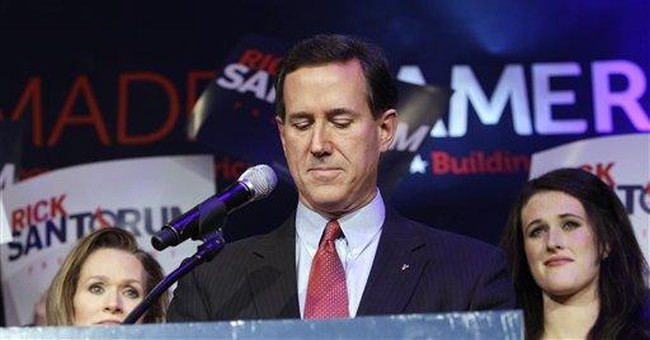 Romney wins in Michigan by sinking a surging rival