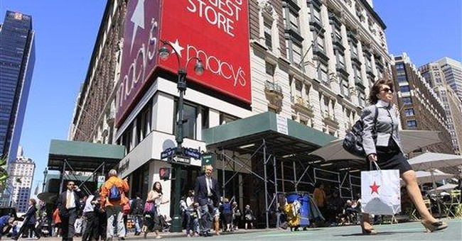 Strong retail sales are sign of improving economy