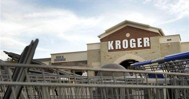 Kroger posts 4Q loss on pension costs