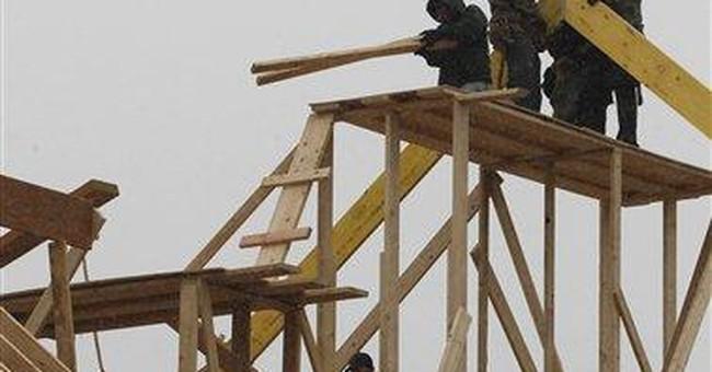 Construction spending slips 0.1 percent in January