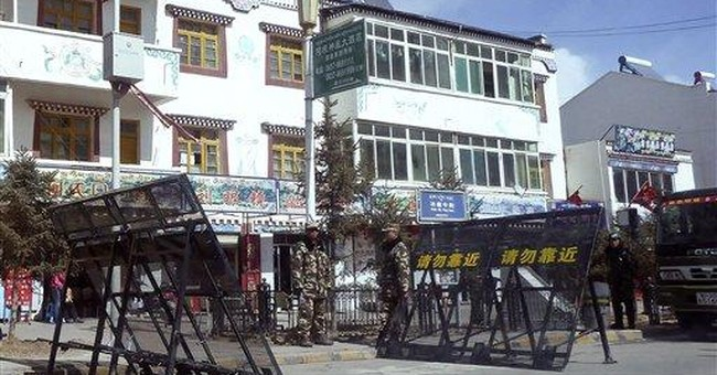 Under lockdown: Life inside dissident Tibetan town