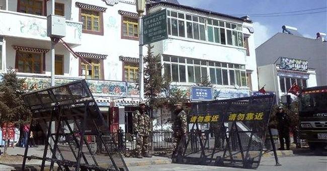 Under lockdown: Life inside dissident Tibetan town