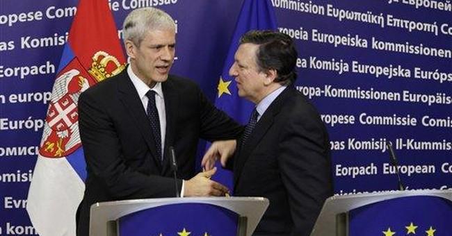 EU leaders endorse Serbian candidacy