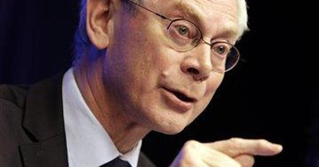 EU leaders hand Van Rompuy 2nd term as president