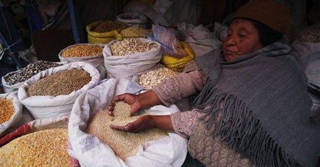 Bolivians fight over quinoa land