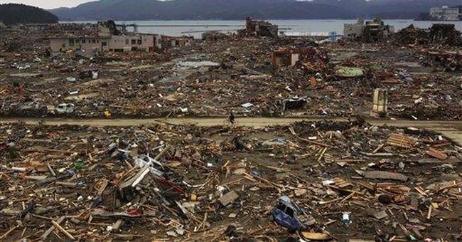 Pictures capture Japan's heartbreak after tsunami