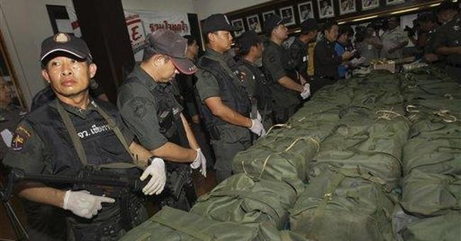 Thai police net 4 million methamphetamine pills