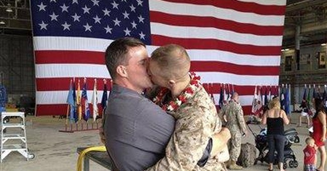 Homecoming Marine wanted to show partner his love