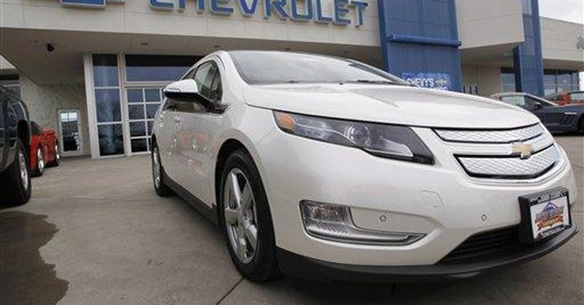 GM to suspend production of Chevrolet Volt